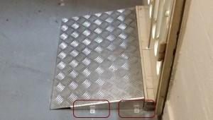 Rampas, puertas y escaleras en acero