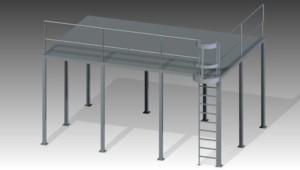 mezzanines y estructuras